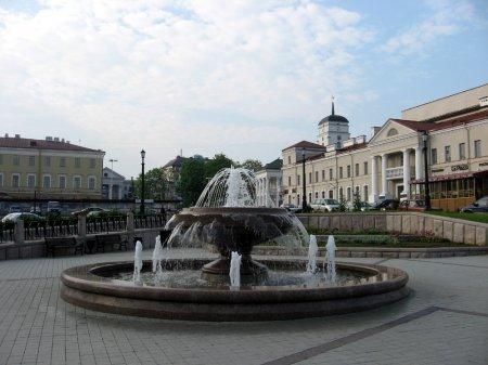 Все фонтаны Минска на карте города, фотографии, расположение минских фонтанов.