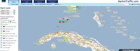 Местоположение крупнейших кораблей мира на онлайн-карте.