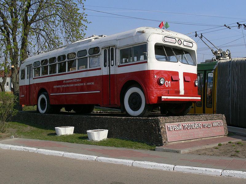 Первый троллейбус Минска