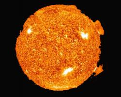 Буря на солнце. Земля сгорит 22.09.2012