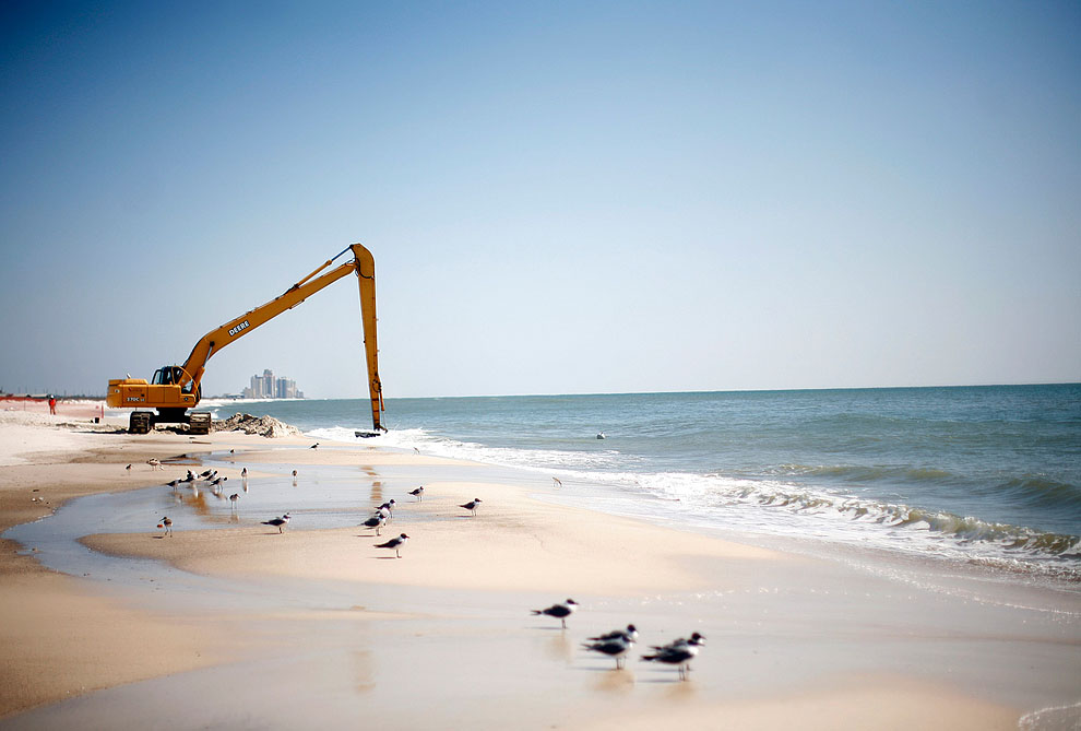 Разлив нефти в Мексиканском заливе – год спустя