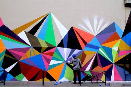 Лучшие образцы уличного искусства