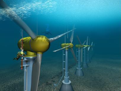 Подводные электростанции