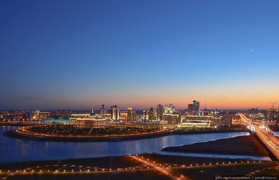 Астана высотная столица Казахстана