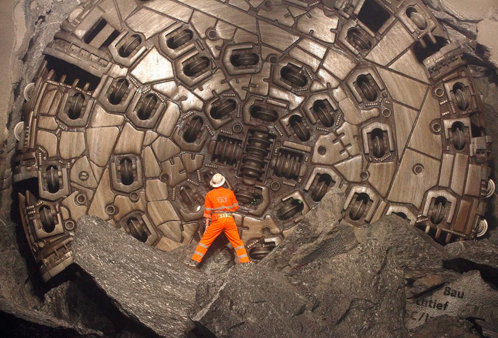 Подземные фотографии