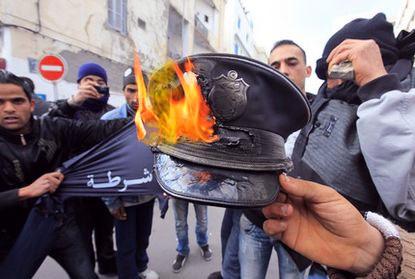 «Жасминовая революция» в Тунисе