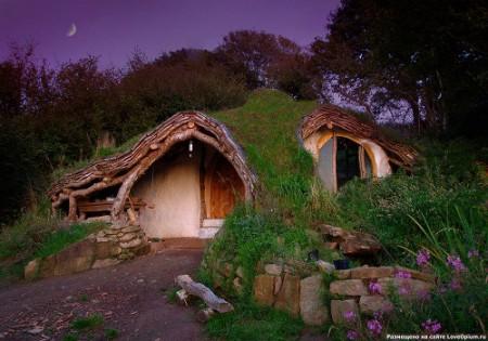 Домик хоббитов в Уэльсе
