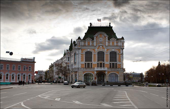 Старый и новый Нижний Новгород: фото одних и тех же мест в прошлом и настоящем