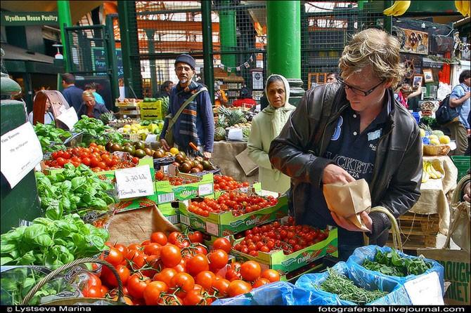 Как выглядит рынок в Лондоне