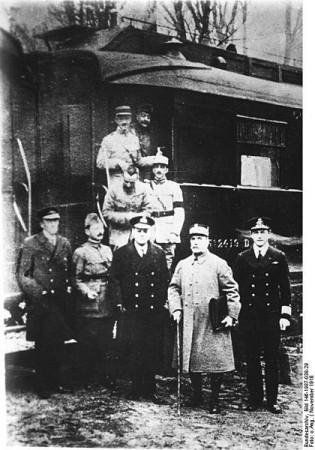 Австро-Германские дипломатические контакты 1918-1919 гг.