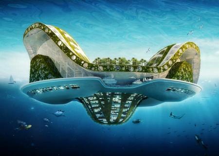 Самые интересные проекты плавающих городов современности