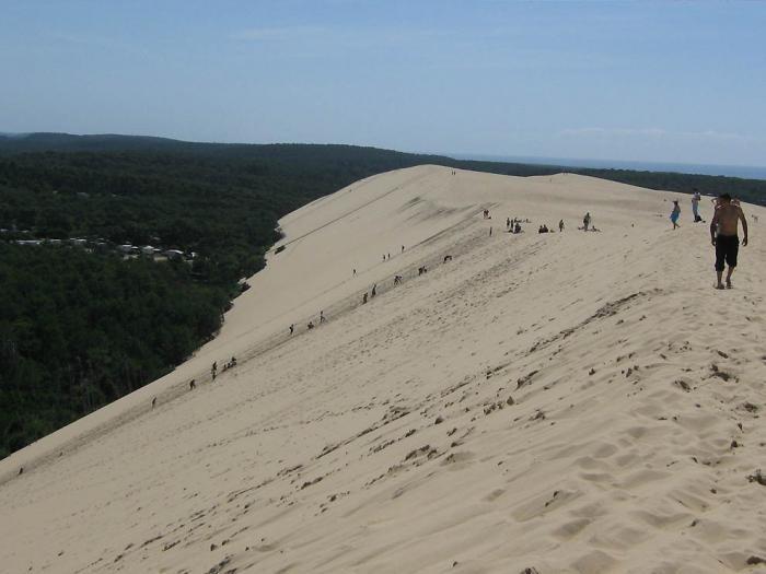 Самая большая дюна в Европе