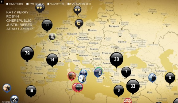 Лучшие карты за 2011 год