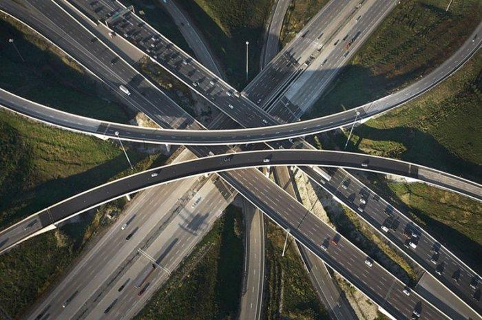 Фото дня: дорожные развязки в Техасе