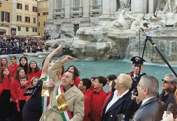 Самый доходный фонтан в мире