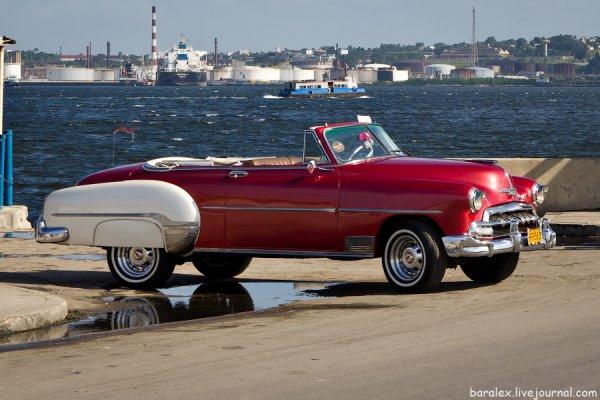 Старинные авто на Кубе