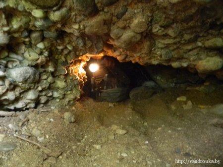 Единственная пещера в Беларуси