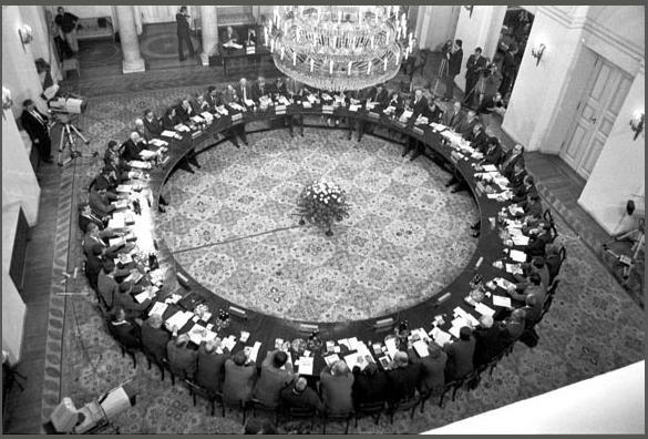 Работа согласительной комиссии как пример взаимодействия власти и оппозиции ...