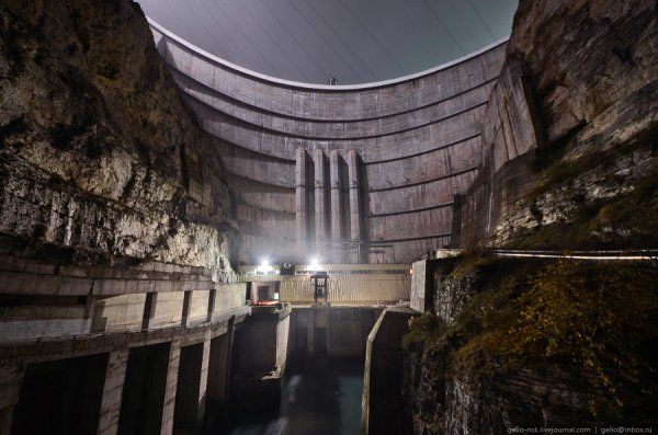Чиркейская ГЭС – самая высокая арочная плотина в России