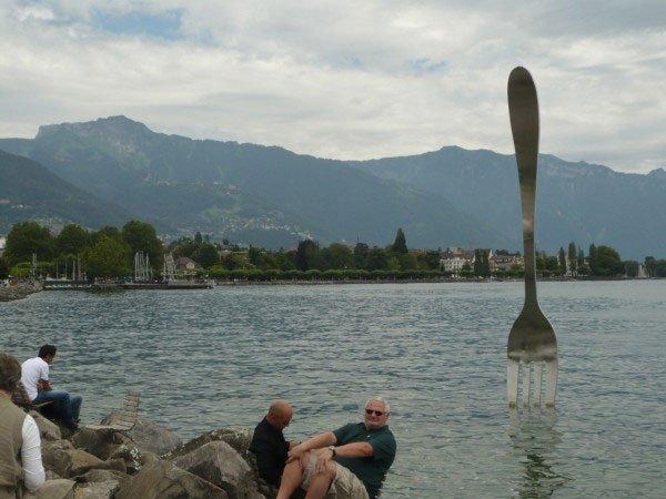 Гигантские скульптуры Класа Ольденбурга