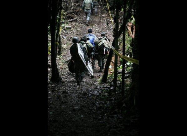 Эквадор разминирует границу с Перу