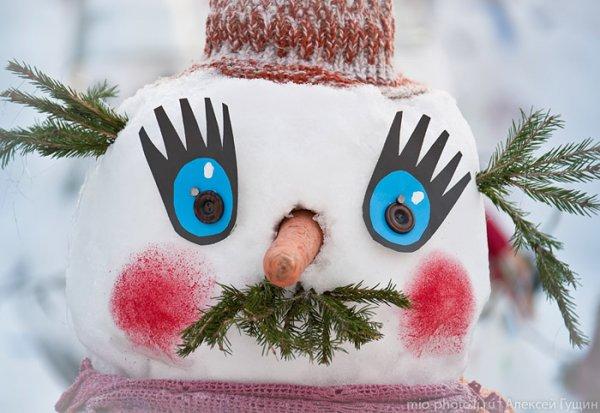 Парад снеговиков в Перми