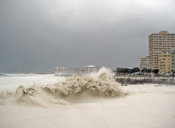 День, когда море превратилось в пену