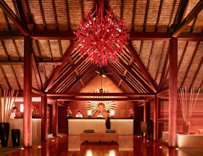Эксклюзивный отель Four Seasons на Бора-Бора