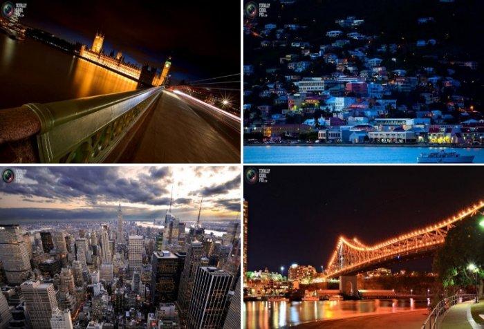 Потрясающие городские пейзажи