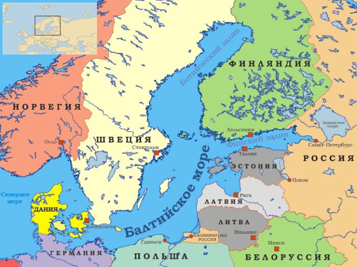 Демографические проблемы городов стран Балтийского региона
