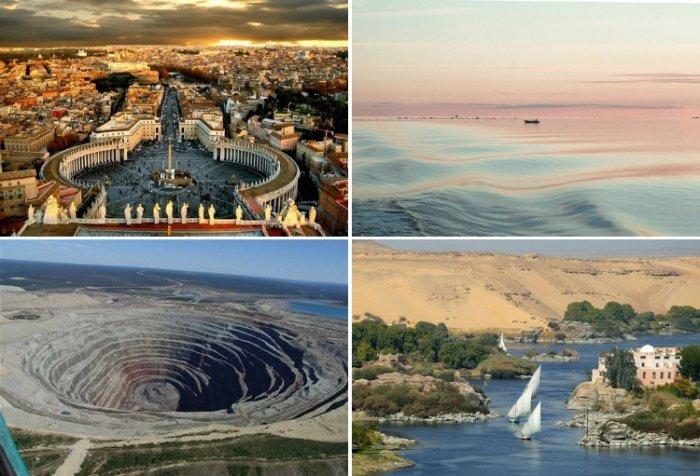 13 интересных географических фактов