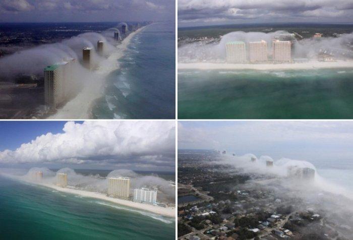 Волны тумана в Панама-Сити