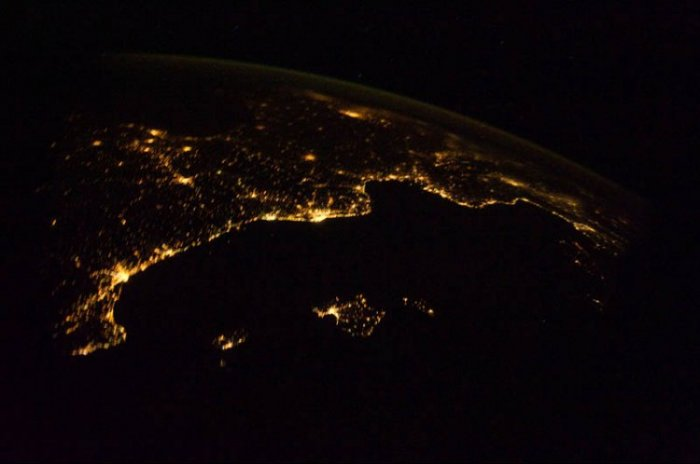 Ночь на планете 30 фото из космоса