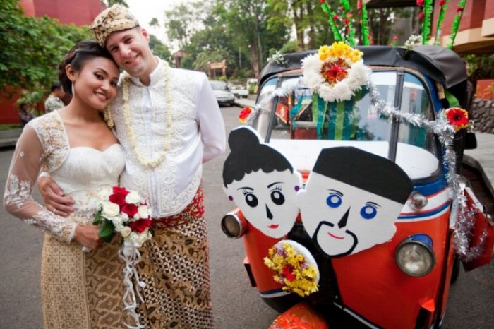 Как женятся во всем мире