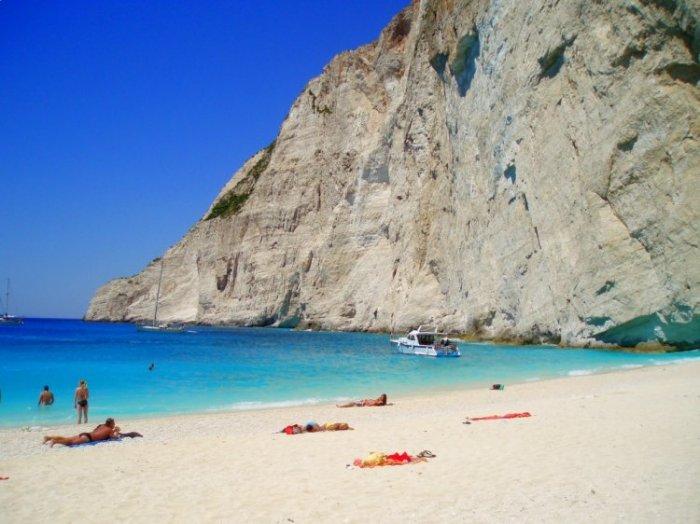 Изумительный пляж Наваджо