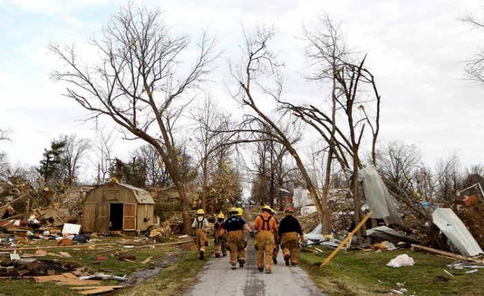 Ураганы обрушились на США