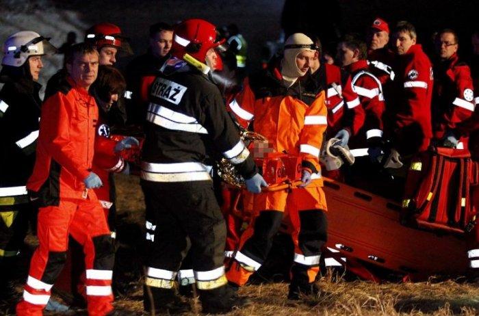 Поезда в Польше столкнулись лоб в лоб