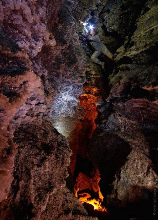 Экспедиция в пещеру Млынки