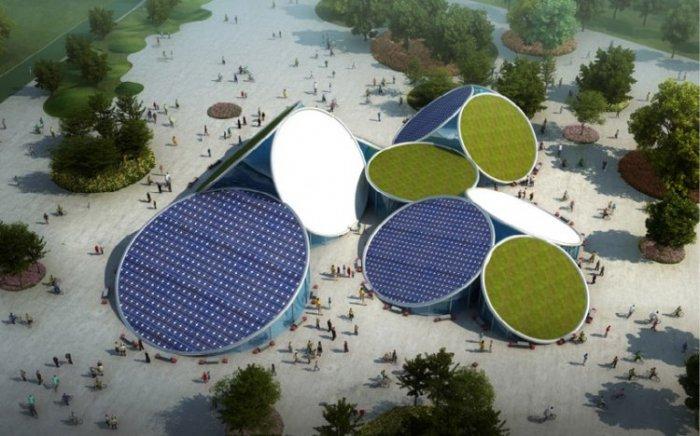 Проект велосипедного парка в Китае
