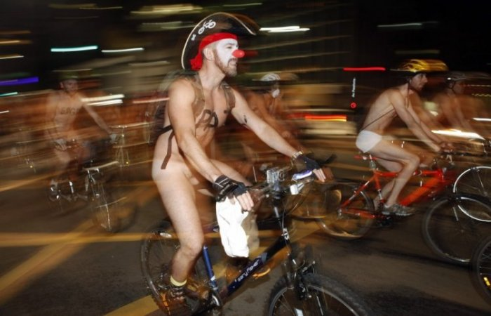 World Naked Bike Ride 2012