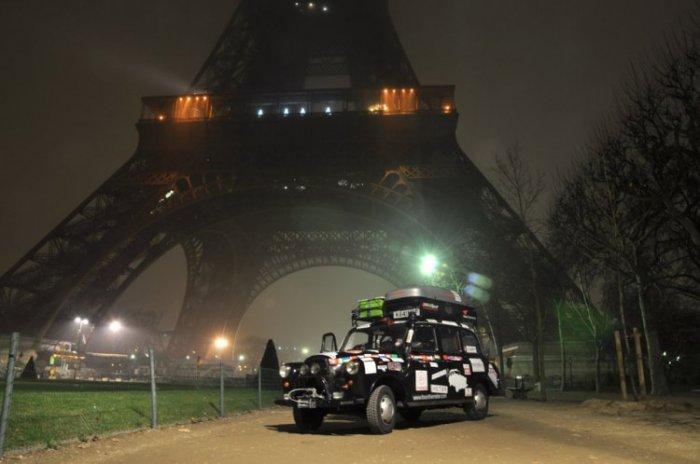 Вокруг света на лондонском такси