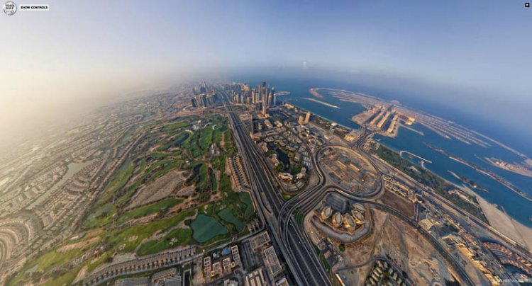 Панорамы с воздуха
