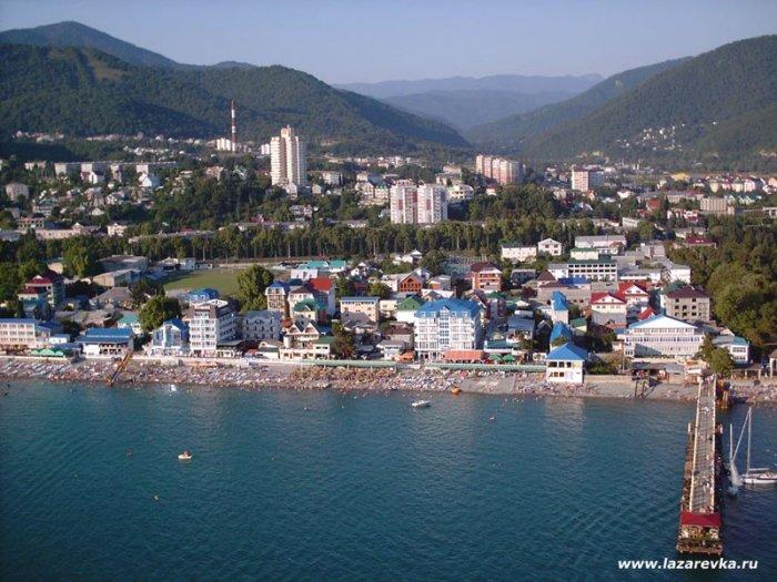 Лазаревское - условия для туристов