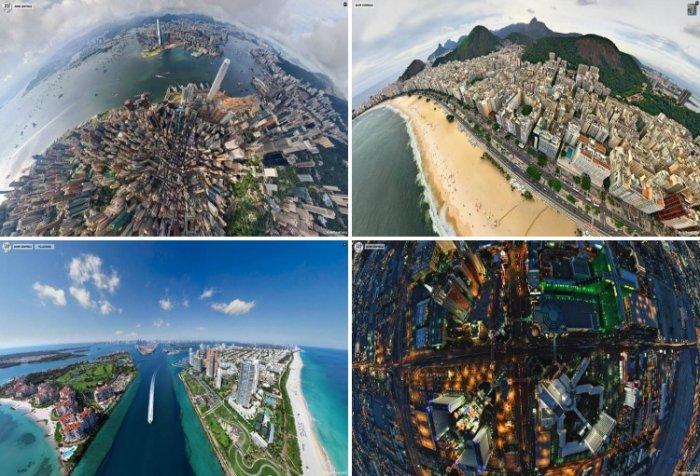 Топ-10 панорамных фото городов мира