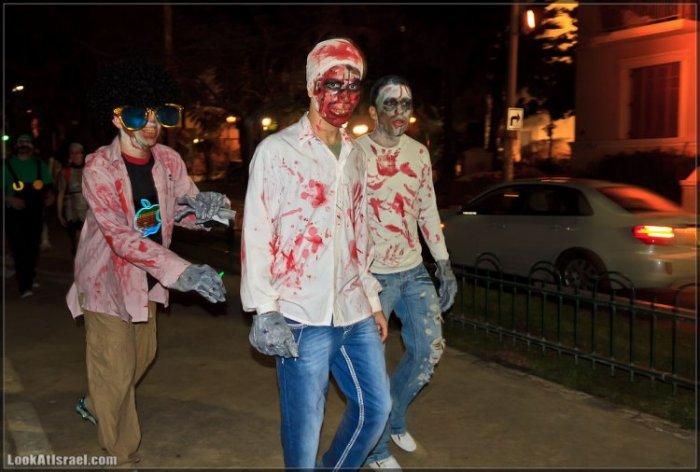 Зомби на улицах Тель Авива – Zombie Walk Tel Aviv