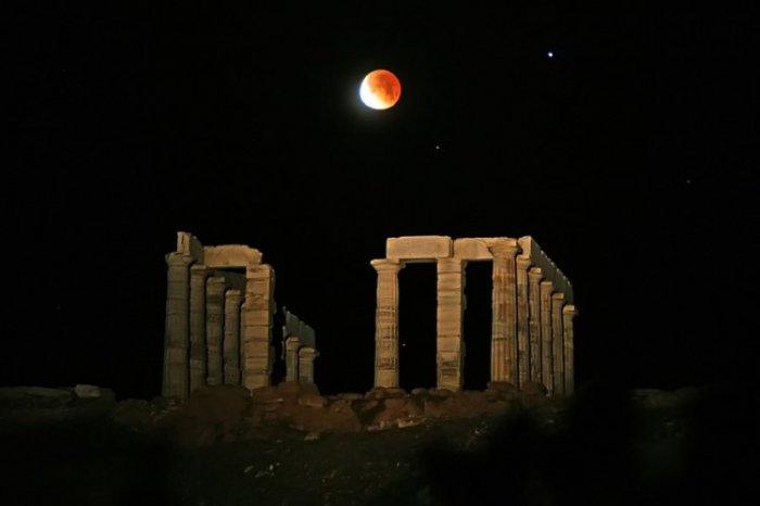 Ночное небо Греции
