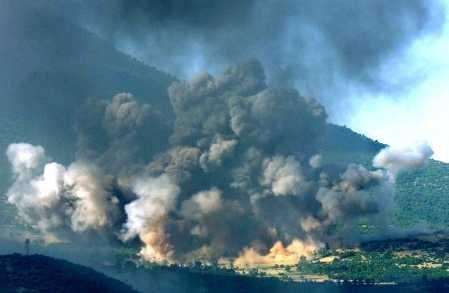 Состояние окружающей среды в Югославии
