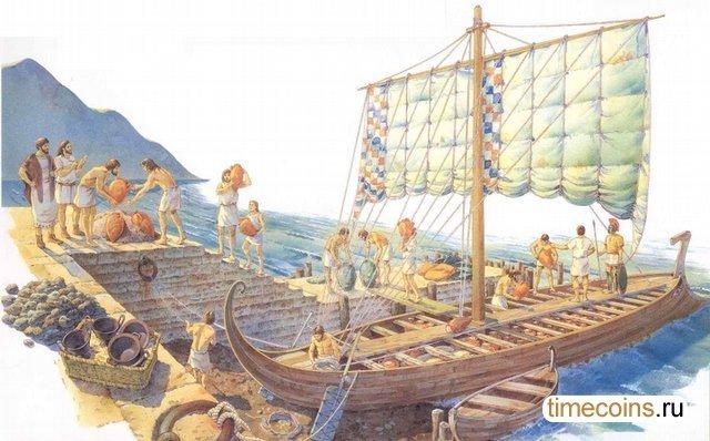 Роль торговли и торговцев в получении и распространении информации между полисами Греции