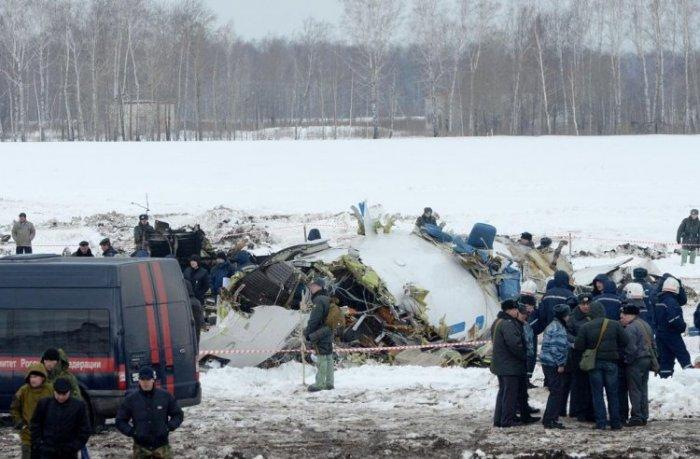 Крушение самолета UTair в Тюмени