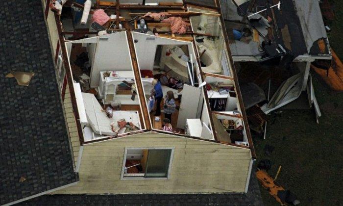 На Техас обрушились торнадо